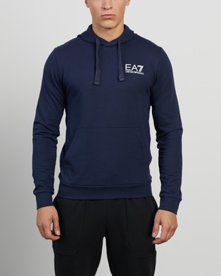 Emporio Armani EA7 Felpa Hooded Sweatshirt Hoodies Navy