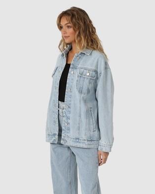 Madison The Label - Skye Denim Jacket - Denim jacket (Blue) Skye Denim Jacket