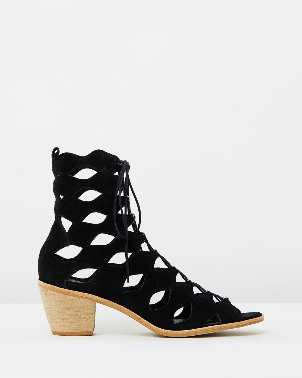Matisse Jester Mid-low heels Black Suede Jester
