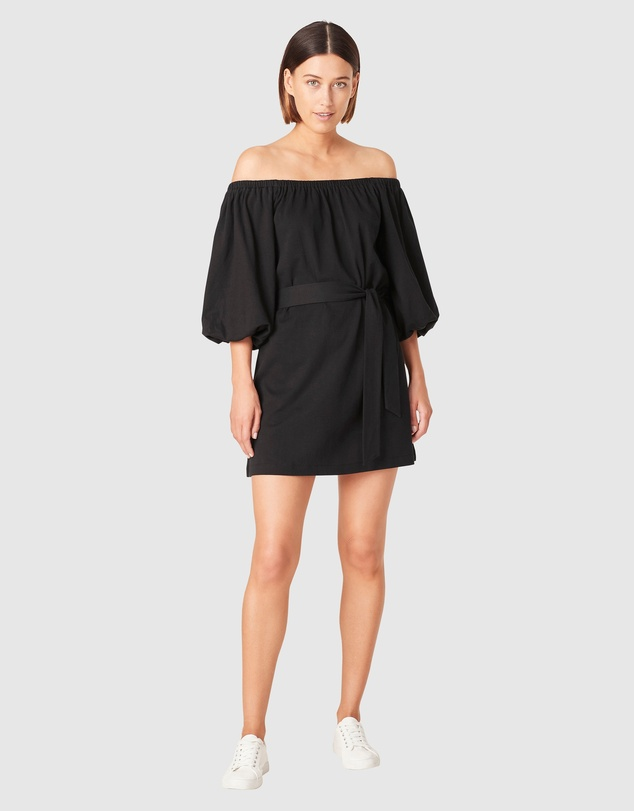French Connection - Off Shoulder Jersey Dress