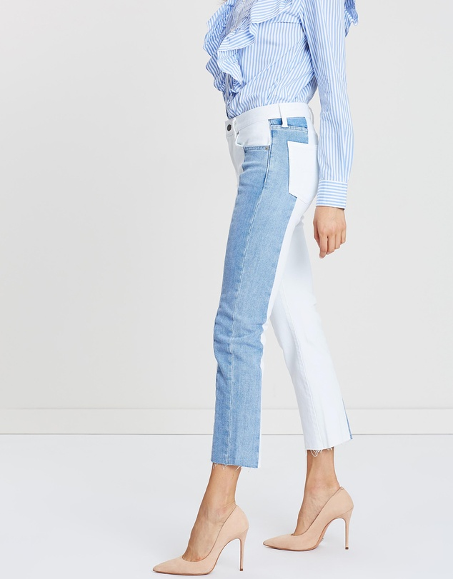 Polo Ralph Lauren - Waverly Crop Straight Jeans