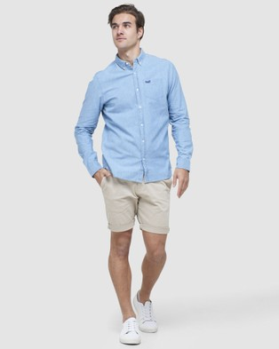 Superdry International Chino Short - Chino Shorts (Sand Dollar)