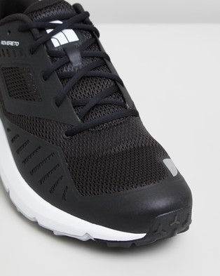 The North Face Rovereto Trail Running Shoes   Men's - Hiking & Trail (Black & White)
