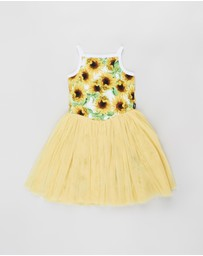 Rock Your Kid - ICONIC EXCLUSIVE - Sun Flower Lou Lou Dress - Kids-Teens