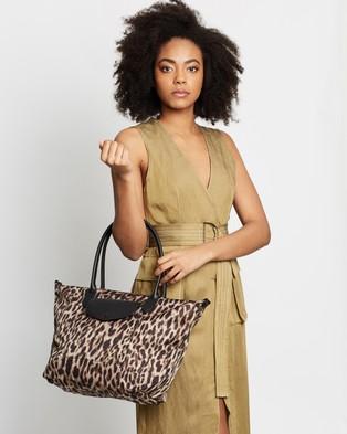 Banana Republic Nylon Travel Tote - Bags (Leopard)