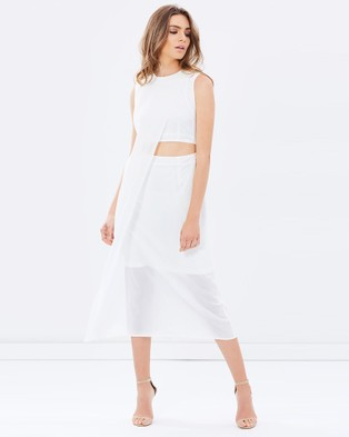 Friend of Audrey – Wanderlust Dress White