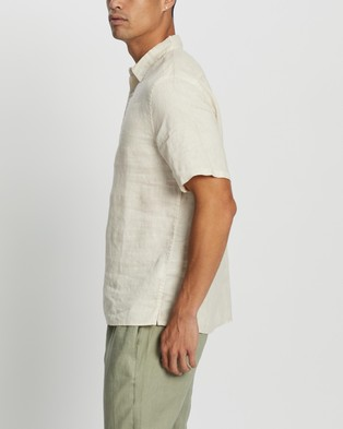 Assembly Label Casual Short Sleeve Shirt shirts Ivory