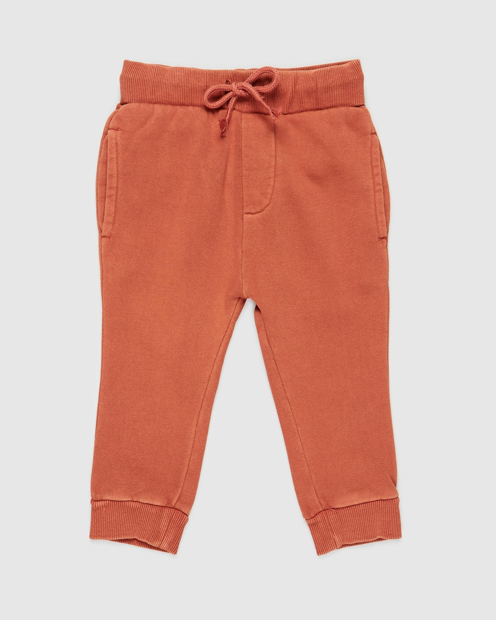 Animal Crackers Stand Out Pants Babies Sweatpants Brown