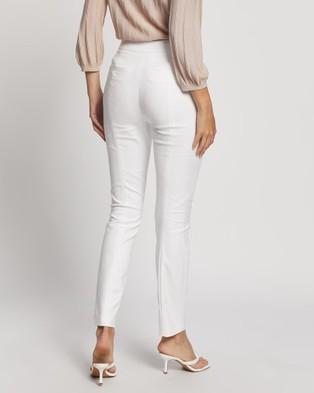 David Lawrence Ivy Capri Pants - Pants (Ivory)