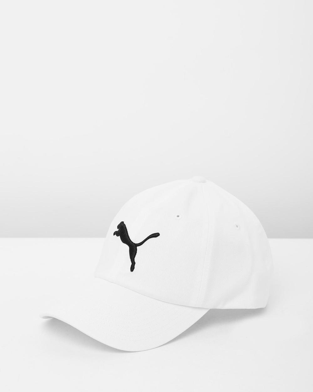 Puma ESS Cap Headwear White Caps Australia