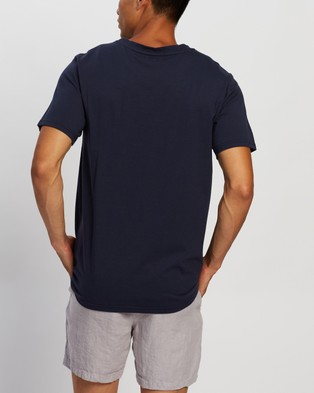 AERE Relaxed Organic A Tee - T-Shirts & Singlets (Navy)