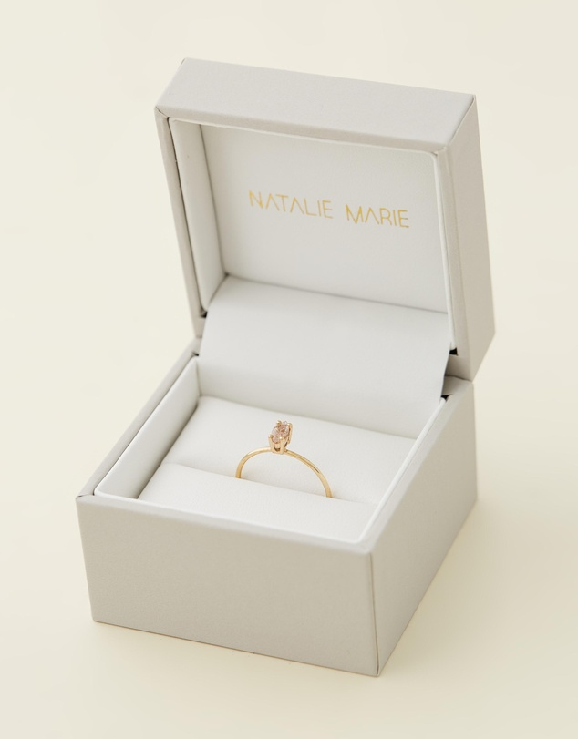 Women Tiny Marquise Ring