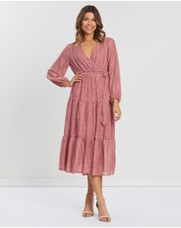 Atmos&Here - Victoria Tiered Maxi Dress