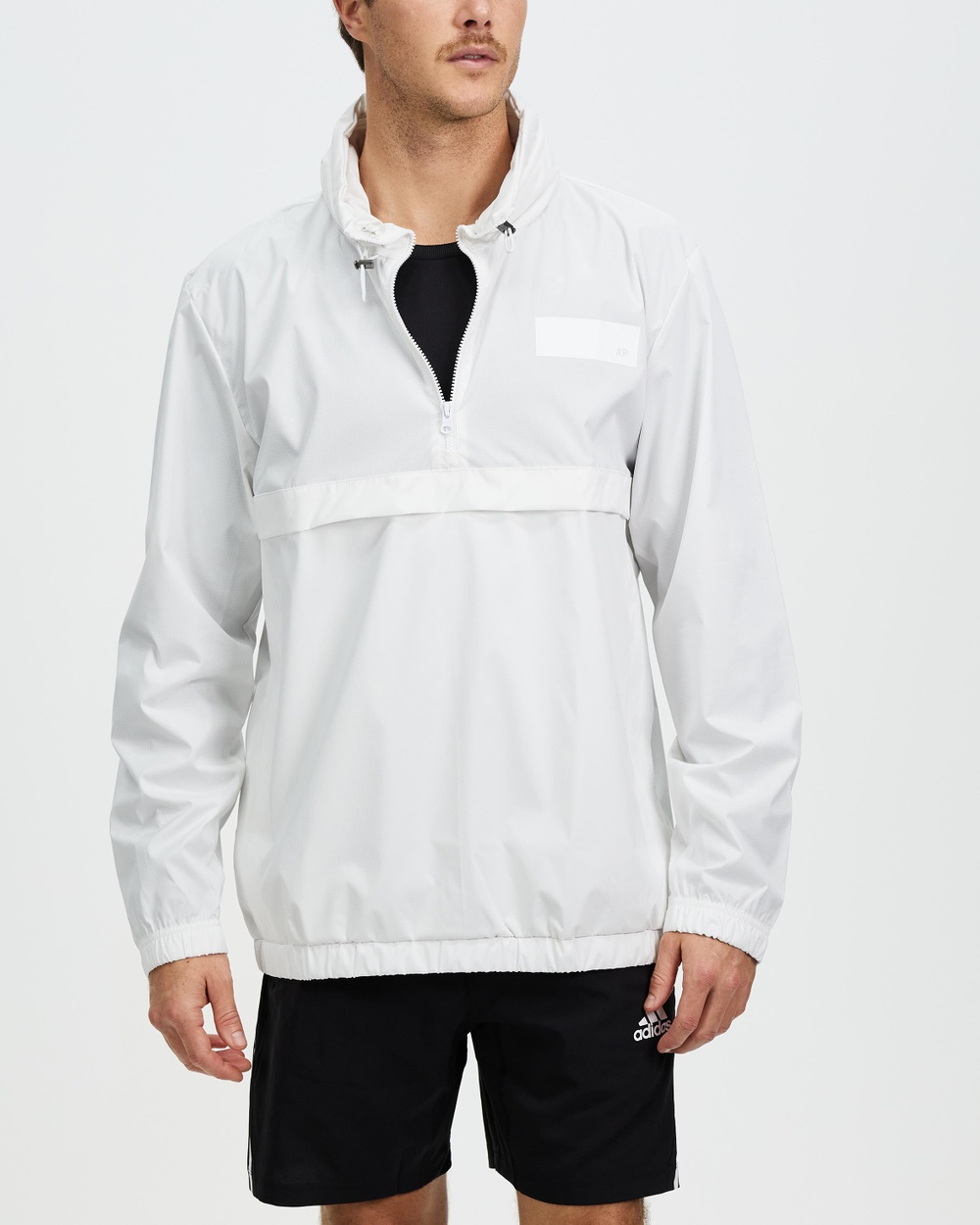 adidas Performance Parley Windbreaker Coats & Jackets White