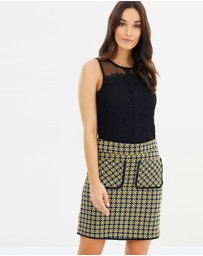 Dorothy Perkins - Geo Mini Skirt