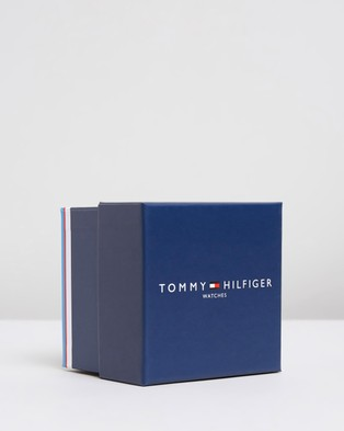 Tommy Hilfiger Kyle 42mm Watch - Watches (Brown & Navy)