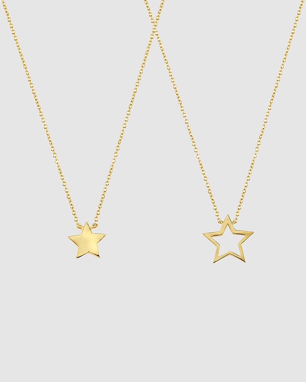 Secret Sisterhood Star Friendship Necklaces Jewellery Gold