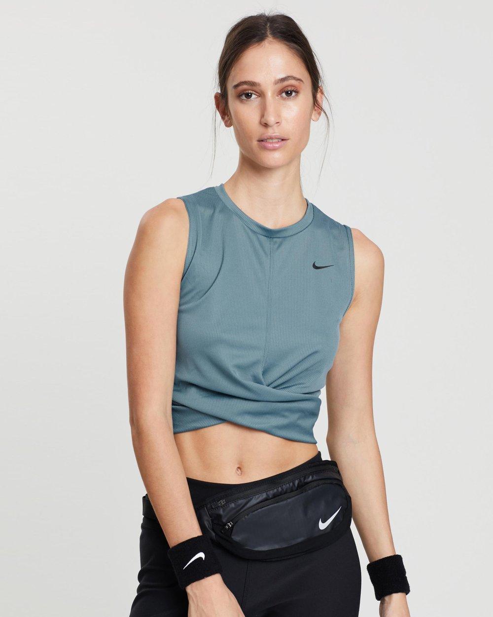 b1891b7d513899 Dry-Fit Twist Crop Tank by Nike Online
