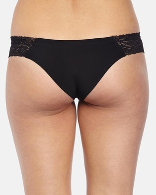 Cotton On Body Party Pants Seamless Brasiliano Briefs - Underwear & Sleepwear (Black)