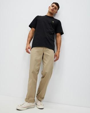 Carhartt SS Chase T Shirt - T-Shirts & Singlets (Black & Gold)