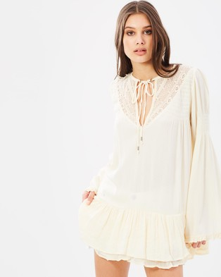 Free People – One Night Victorian Top – Dresses (Ivory)