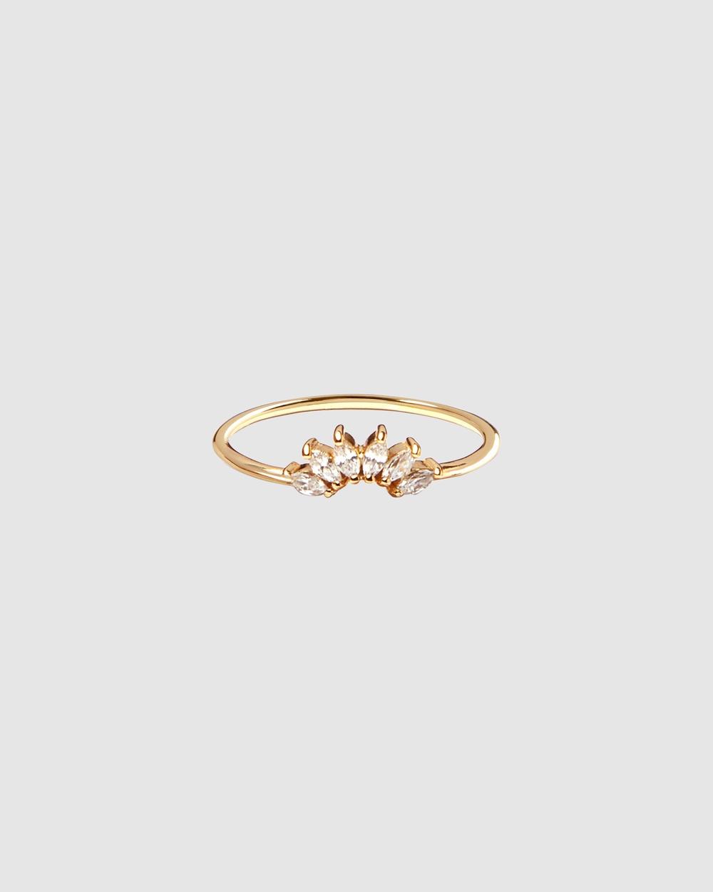 Pastiche Night Fall Ring Jewellery Gold
