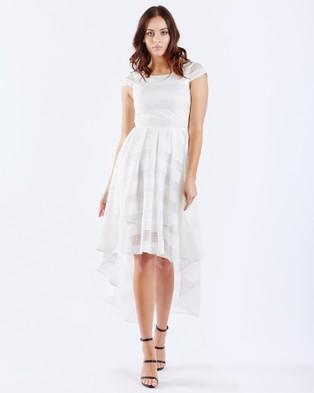 PIZZUTO – Cosmopolitan Mesh Cocktail Dress