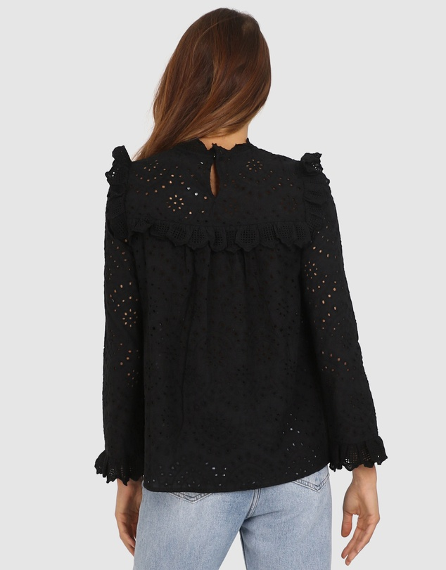 Lost in Lunar  - Riley Lace Top
