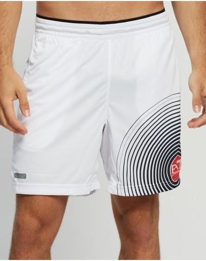Emporio Armani Ea7 Tennis Shorts White