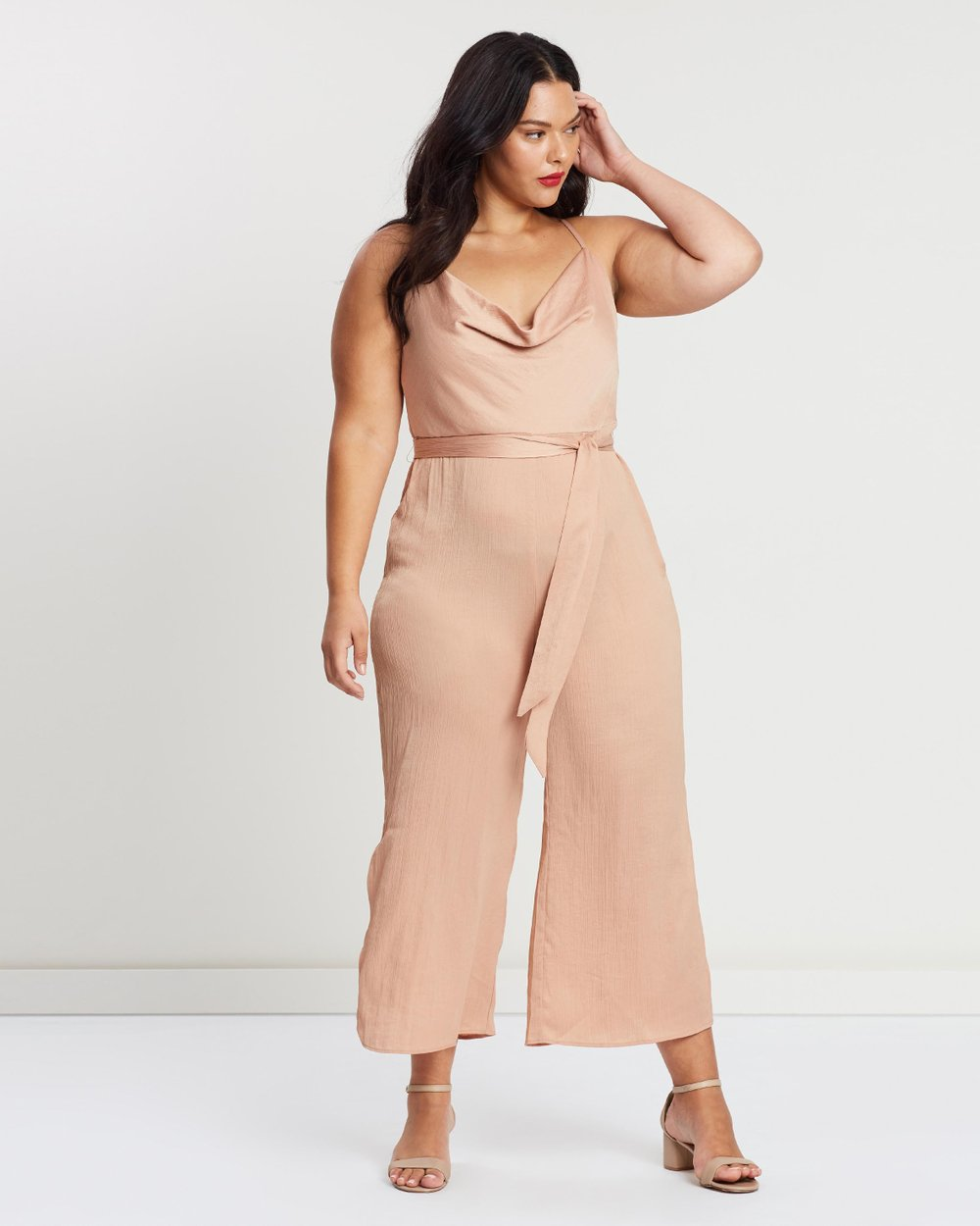d62300322ed7 ICONIC EXCLUSIVE - Ollie Jumpsuit by Atmos Here Curvy Online