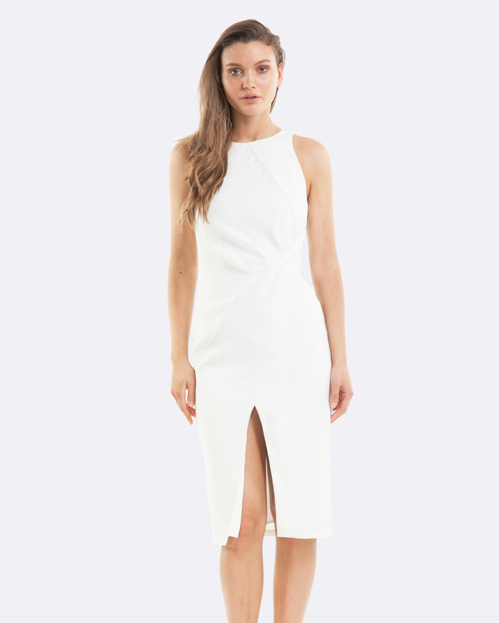 Amelius Blanco Dress Dresses White Blanco Dress