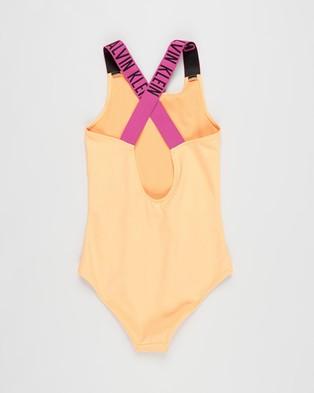Calvin Klein Intense Power Swimsuit   Teens - One-Piece / Swimsuit (Orange Pop)