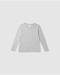 Boody Organic Bamboo Eco Wear - 2 Pack Long Sleeve T-Shirt