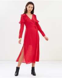 The Fifth Label - Window LS Wrap Dress