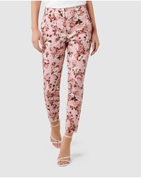 Forever New - Kellie High Waist Printed Pants