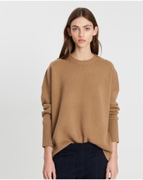 Theory - Relaxed Drop Shoulder Pull Over