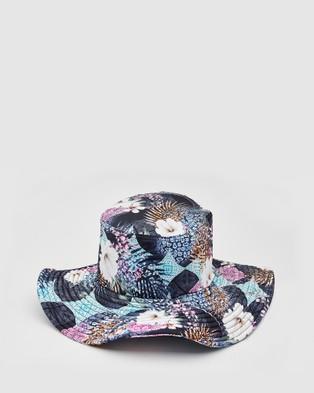 Aqua Blu Kids Eros Lycra Bucket Hat   Babies - Hats (Multi)