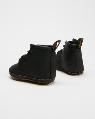Dr Martens - 1460 Crib Lace Booties Babies Boots (Black Mason)