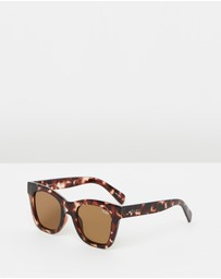 Quay Australia - After Hours Tort Square sunglasses