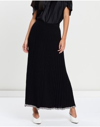 Christopher Esber - Pleated Knit Skirt