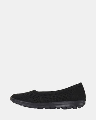 Ravella Hitch - Ballet Flats (BLACK)