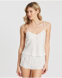 Homebodii - Linen Cami Set