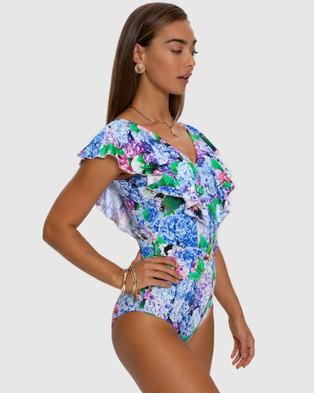 Aqua Blu Australia Blossom Flora One Piece - One-Piece / Swimsuit (Blossom)