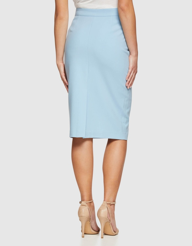 Oxford - Peggy Sky Suit Skirt