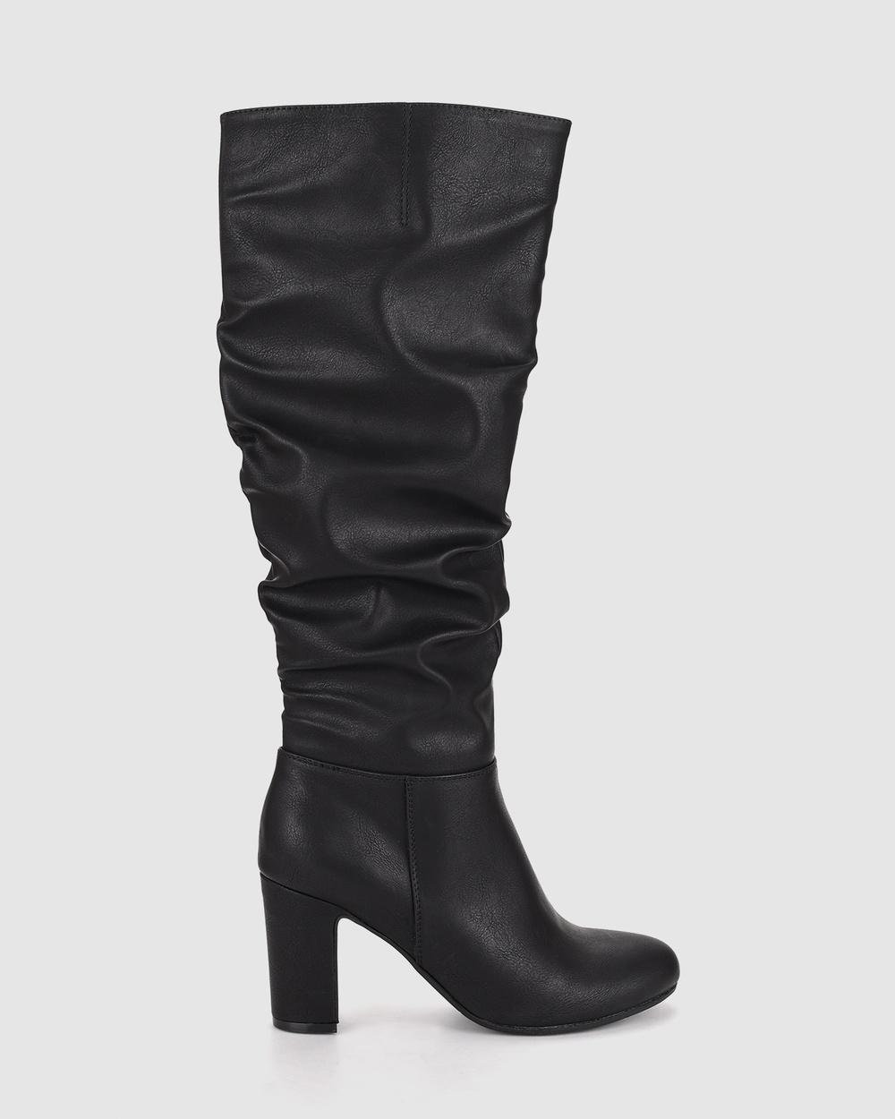 Verali - Zante - Knee-High Boots (Black) Zante