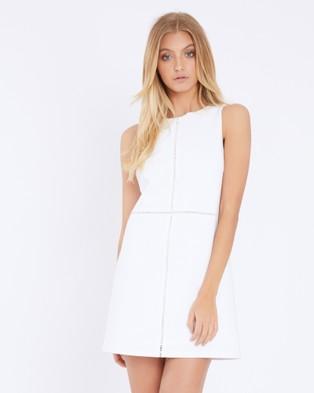 Calli – Despina Dress White