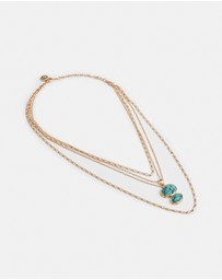 Palm Palais Choker Necklace