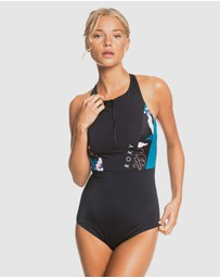 Roxy - Womens ROXY Fitness One Piece Swimsuit