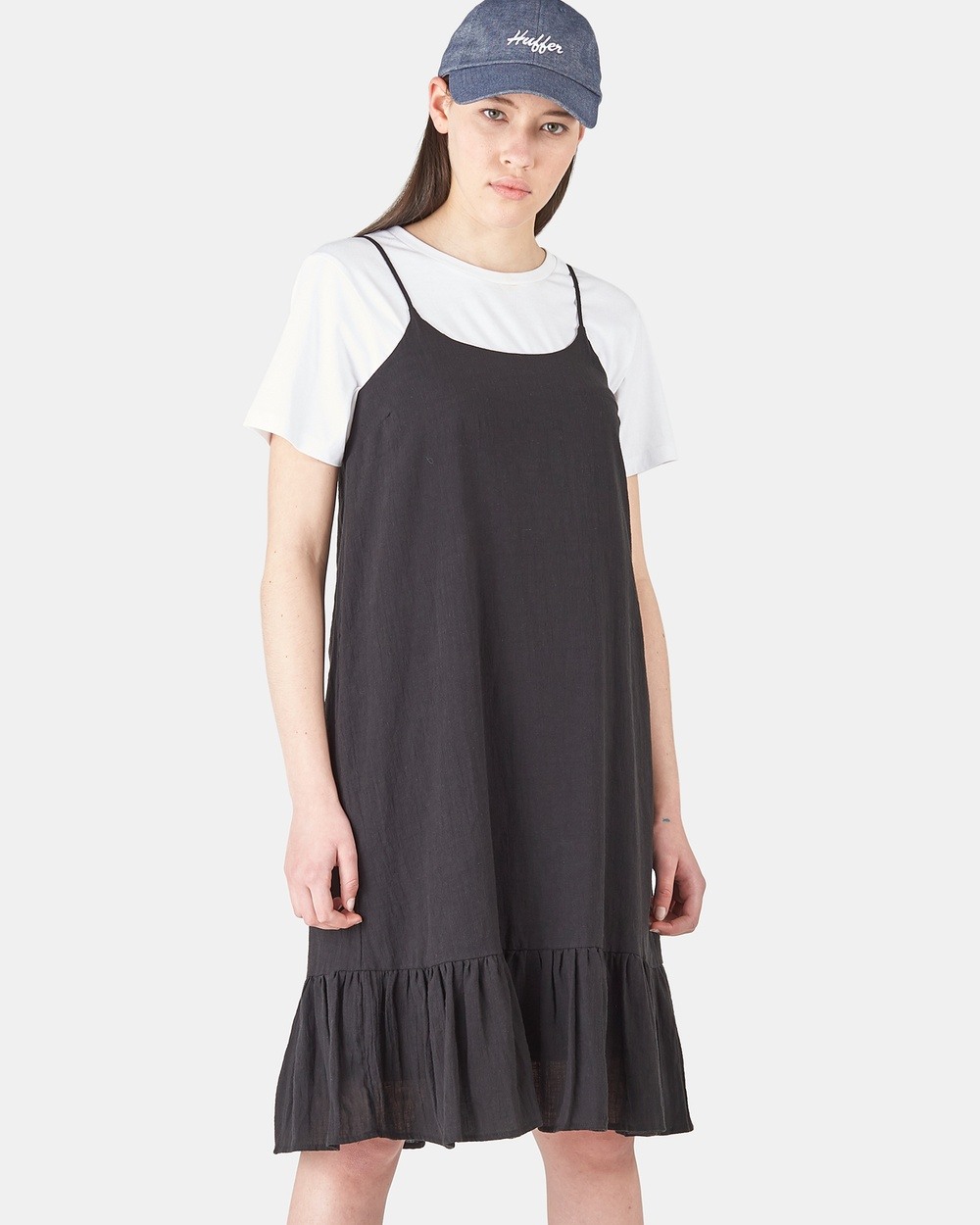 Huffer BLACK Georgia Dress