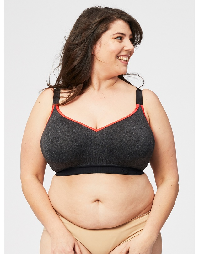 Cake Maternity - Sugar Candy Crush Wireless Fuller Bust Seamless Lounge Bra (for F-HH Cups)